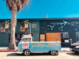 Surfer à Los Angeles