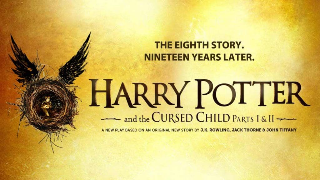 Harry potter and the cursed child billet à broadway